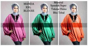 manda blouse 75rb
